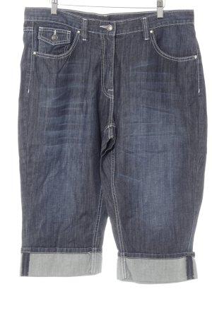 Ulla Popken 3/4-broek donkerblauw casual uitstraling
