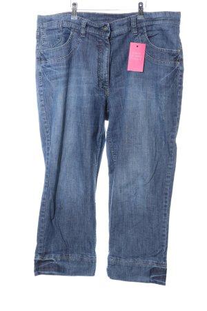 Ulla Popken 3/4 Length Jeans blue casual look