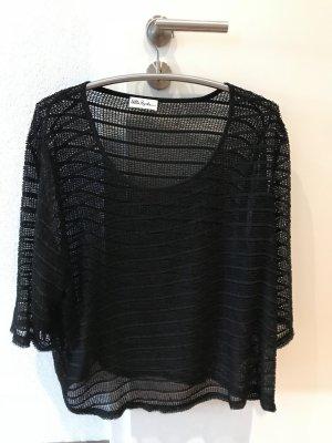 Pure by Ulla Popken Camisa negro