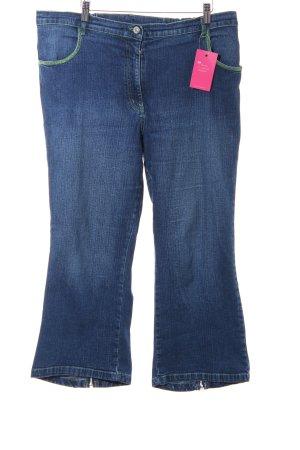 Ulla Popken 7/8 Jeans blau Casual-Look