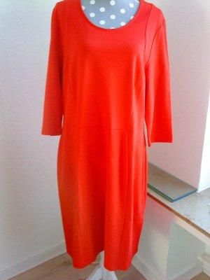 Ulla Popken * Kleid * rot-orange * ungetragen * Gr. 46/48