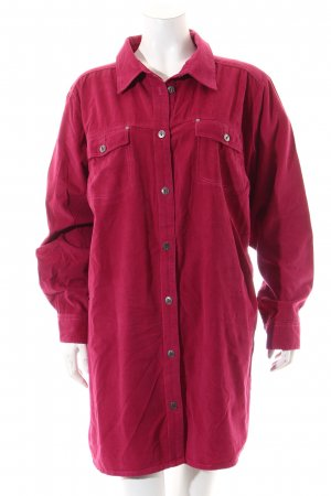 Ulla Popken Shirt met lange mouwen framboosrood casual uitstraling