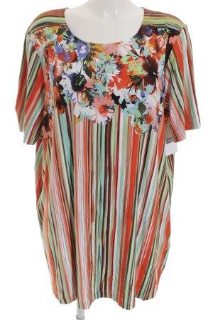Ulla Popken Longshirt florales Muster Gypsy-Look