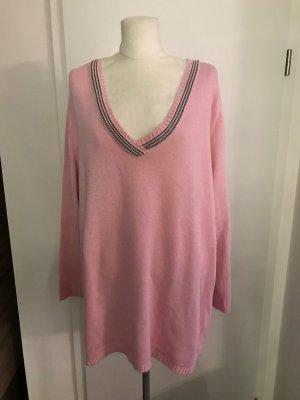 Ulla Popken Pullover Gr.50/52 rosa