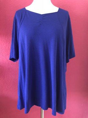 Ulla Popken royalblaues Shirt