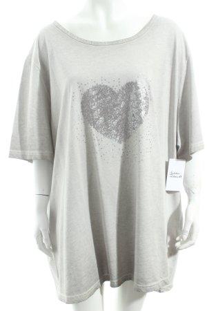 Ulla Popken Shirt hellbeige Casual-Look