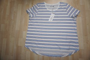 Ulla Popken Shirt T-Shirt Ringel gestreift 50/52 100% Baumwolle - NEU!!!