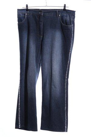 Ulla Popken Jeans slim bleu style décontracté