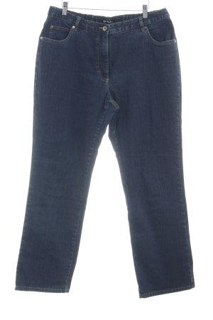 Ulla Popken Slim Jeans dunkelblau Casual-Look