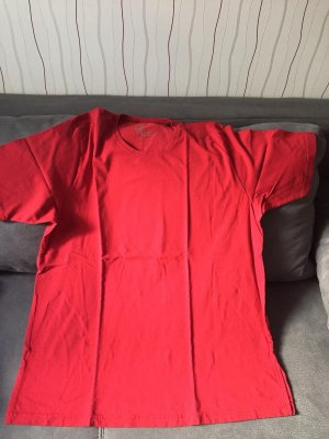 Ulla Popken Camisa deportiva rojo-rojo claro
