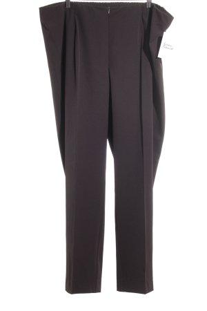 Ulla Popken Pantalone elasticizzato marrone stile casual