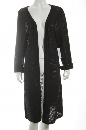 Ulla Popken Strickjacke schwarz Casual-Look