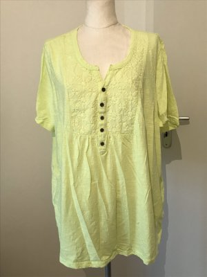 Ulla Popken T-Shirt Gr.54/56 gelb Neon Shirt
