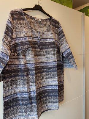Ulla Popken Shirt Tunic cognac-coloured