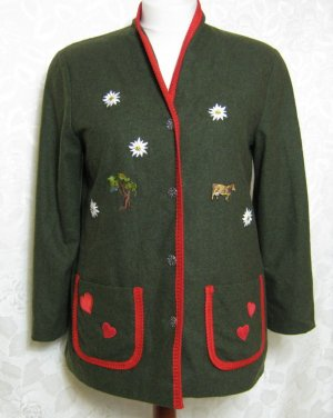Traditional Jacket forest green