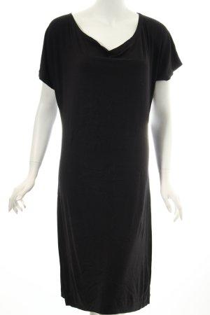 Ulrike Storch Jerseykleid schwarz schlichter Stil