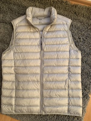 Uniqlo Down Vest light grey polyester