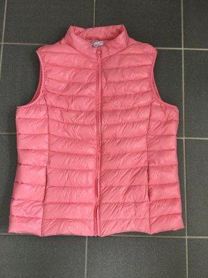 Ultraleichte Daunenweste, Gr. 40, Pink