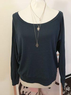 American Apparel Kraagloze sweater veelkleurig