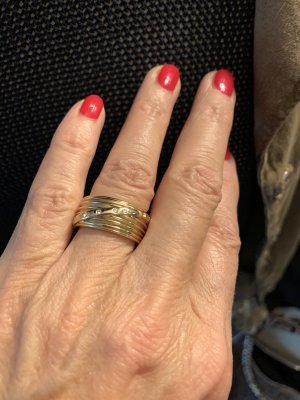 Pierre Lang Gold Ring gold-colored-white