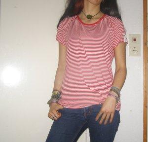 Tchibo / TCM Camisa de rayas multicolor Viscosa