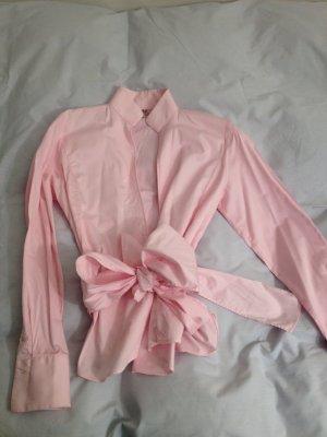 UMANI Bluse, Größe S (zweimal getragen) mit Wickelschleife, Büroklassiker