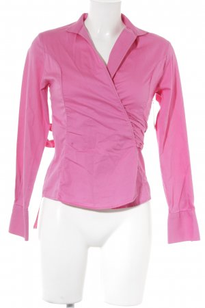 Umani Hemd-Bluse pink Business-Look