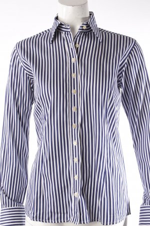 Umani blouse striped blue and white