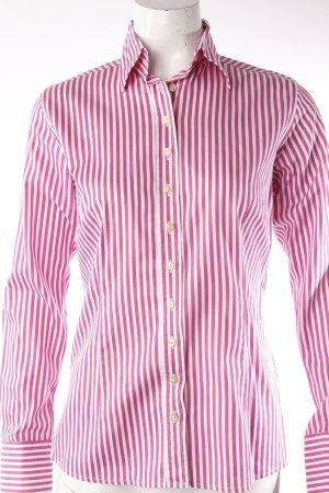 Umani Hemdbluse pink-weiß gestreift