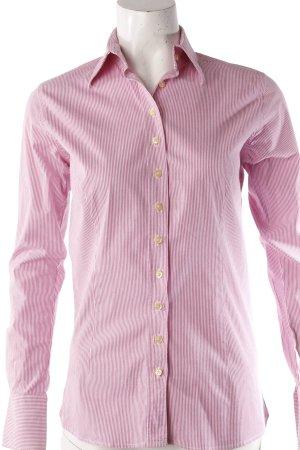 Umani Hemdbluse rosa-weiß gestreift II