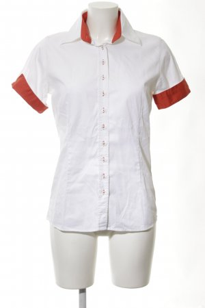 Umani Short Sleeve Shirt white-red casual look