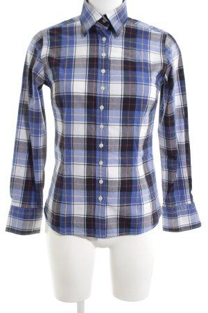 Umani Camisa de manga larga estampado a cuadros look casual