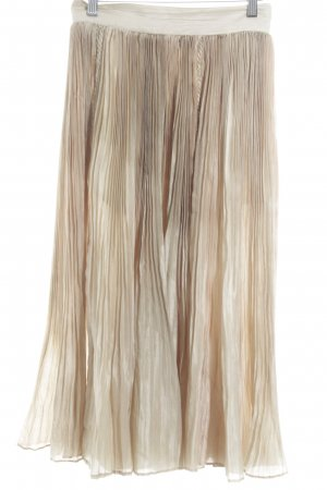 Umberto Ginocchietti Pleated Skirt color gradient elegant