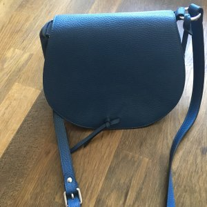 abro Crossbody bag blue leather