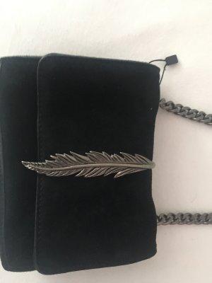 Zara Mini Bag black-silver-colored