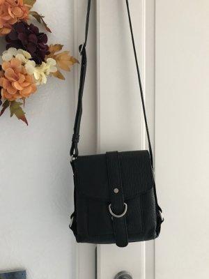voi Crossbody bag black leather