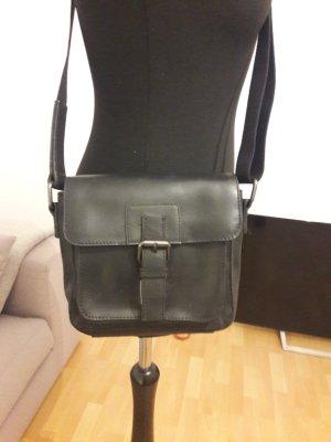 Jost Crossbody bag black leather