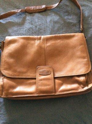 Oconi College Bag beige leather