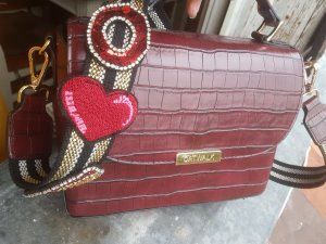 Catwalk Crossbody bag bordeaux