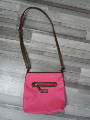 Tom Tailor Crossbody bag pink-brown red