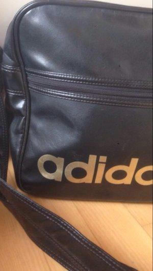 Umhängetasche Adidas Gold schwarz