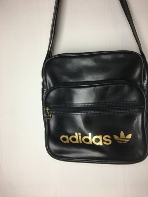 Umhängetasche Adidas schwarz/Gold