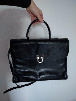 Umhängetasche Aktentasche aus Leder der Marke Leonhard Heyden
