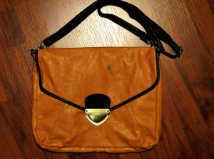 Crossbody bag multicolored imitation leather
