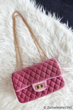 Bandolera rosa-color rosa dorado