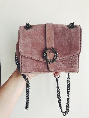 Umhängetasche Altrosa von Zara, erinnert an Gucci