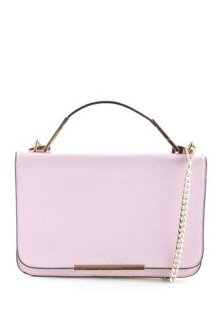 Borsa a spalla giallo pallido-rosa stile casual