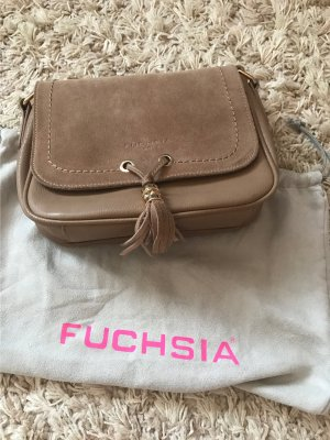 Crossbody bag gold-colored-brown