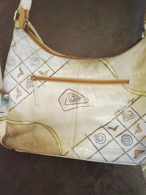 Greenland Art+Craft Bandolera marrón arena-beige claro