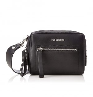 Love Moschino Crossbody bag multicolored imitation leather